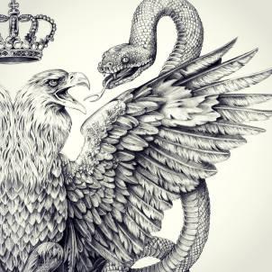 Double Eagle I detail I graphite on paper I customer: Swatsky